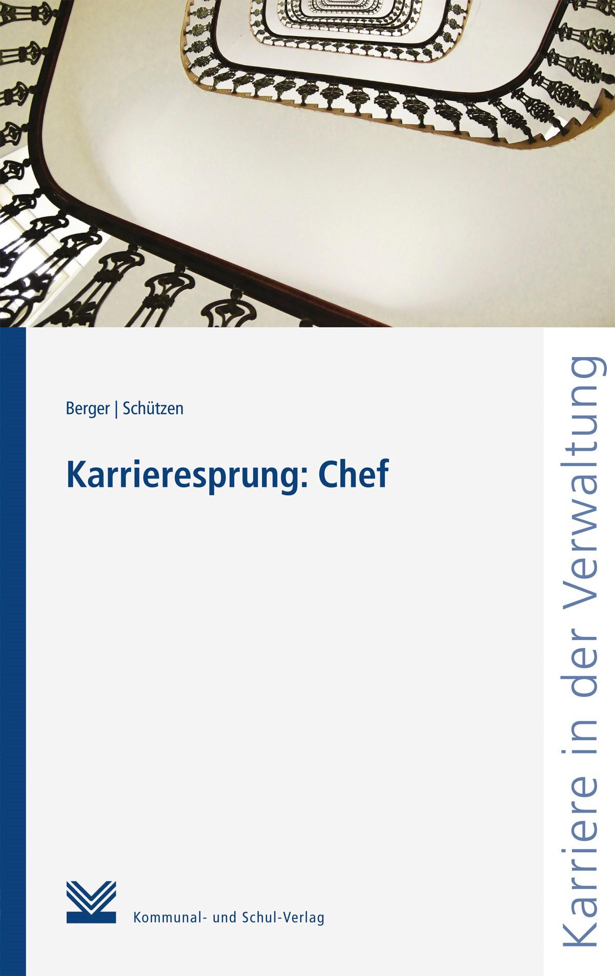 Karrieresprung: Chef | Berger / Schützen, 2018 | Buch (Cover)
