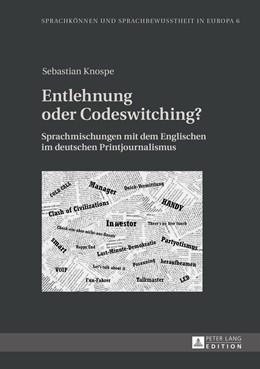 Abbildung von Knospe   Entlehnung oder Codeswitching?   2014   Sprachmischungen mit dem Engli...   6
