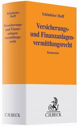 Abbildung von Schönleiter / Reiff   Versicherungs- und Finanzanlagenvermittlungsrecht   2020