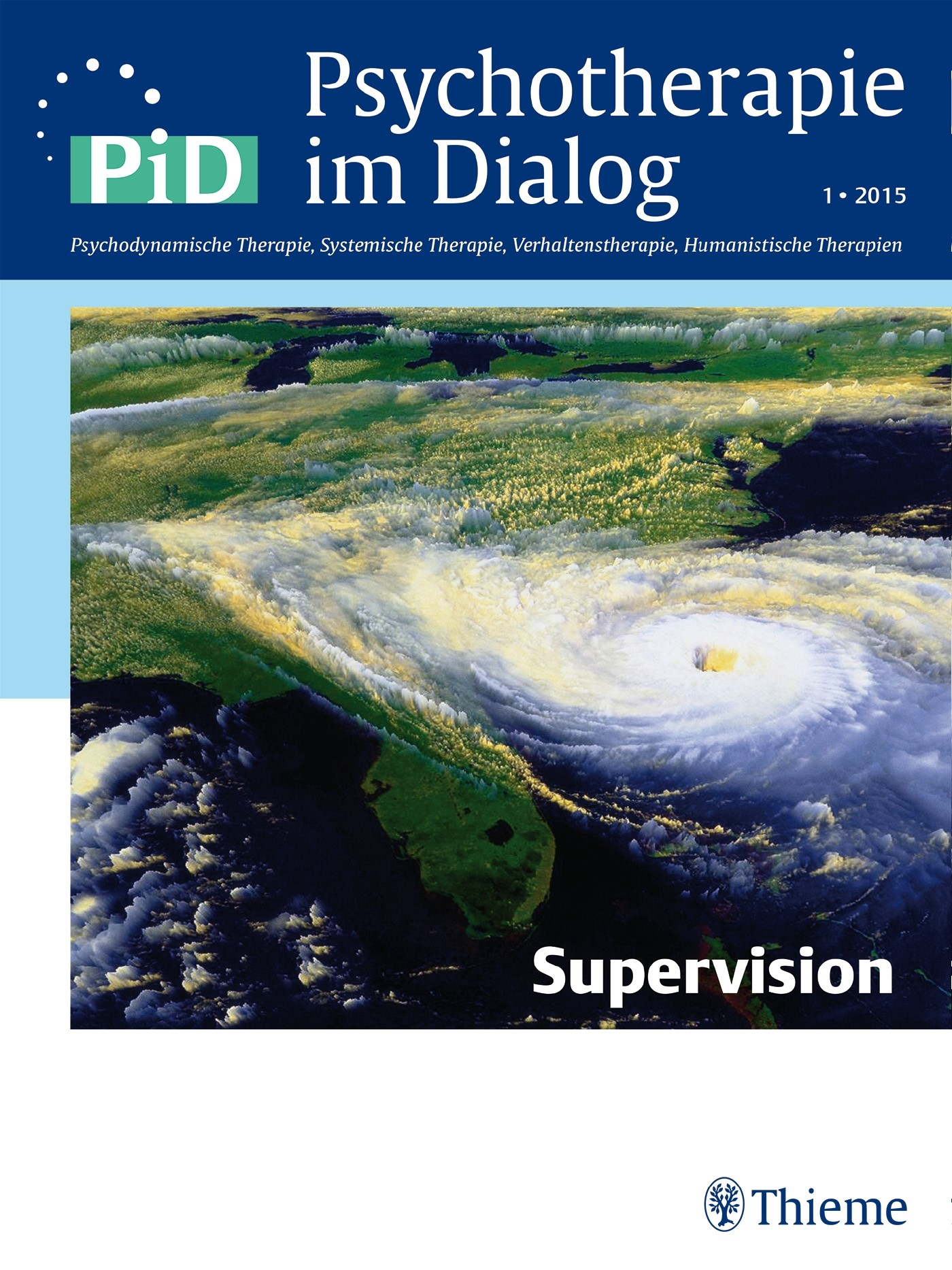 Psychotherapie im Dialog - Supervision | Borcsa / Wittich, 2015 | Buch (Cover)