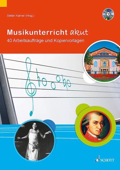 Musikunterricht akut   Kalmer, 2015   Buch (Cover)