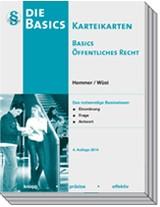Karteikarten Basics Öffentliches Recht | Hemmer / Wüst | 4. Auflage, 2014 (Cover)