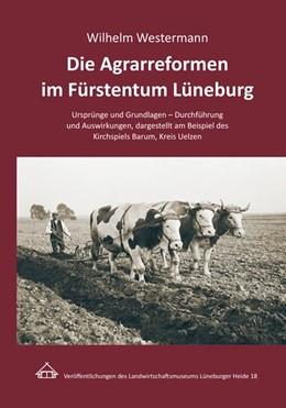 Abbildung von Westermann   Die Agrarreformen im Fürstentum Lüneburg   2014   Ursprünge und Grundlagen - Dur...