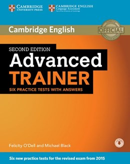 Abbildung von Advanced Trainer. Six Practice Tests with answers and downloadable audio | 1. Auflage | 2015 | beck-shop.de