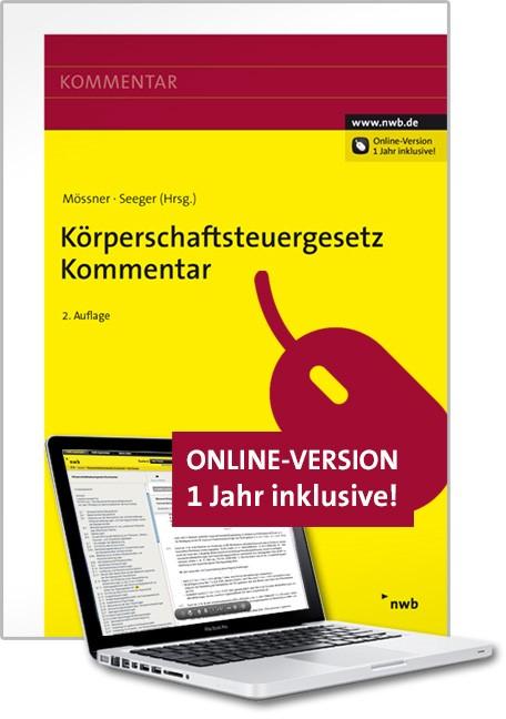 Körperschaftsteuergesetz Kommentar | Mössner / Seeger (Hrsg.) | 2. Auflage, 2014 (Cover)