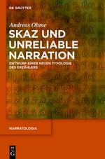 Skaz und Unreliable Narration | Ohme, 2015 | Buch (Cover)