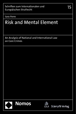 Abbildung von Porro | Risk and Mental Element | 2014 | An Analysis of National and In... | 15