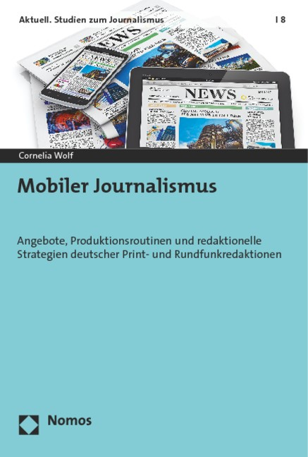 Mobiler Journalismus | Wolf, 2014 | Buch (Cover)