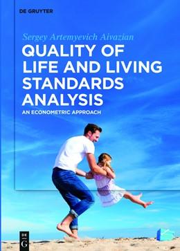 Abbildung von Aivazian   Quality of Life and Living Standards Analysis   1. Auflage   2016   beck-shop.de