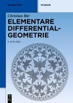Elementare Differentialgeometrie | Bär | 3. überarb. und erw. Aufl.., 3rd corr. and rev. ed., 2019 | Buch (Cover)