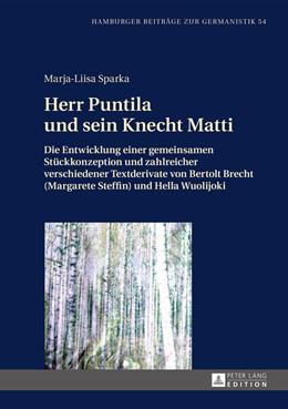 Abbildung von Sparka   Herr Puntila und sein Knecht Matti   1. Auflage   2014   54   beck-shop.de