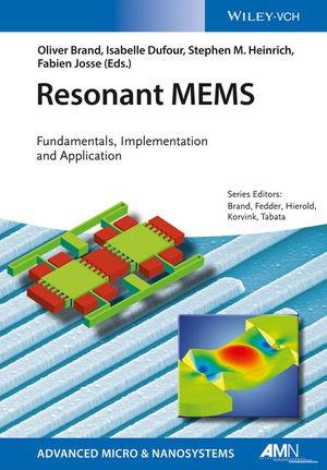 Resonant MEMS | Brand / Dufour / Heinrich / Josse, 2015 | Buch (Cover)