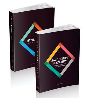 Web Design with HTML, CSS, JavaScript and jQuery Set   Duckett, 2014 (Cover)