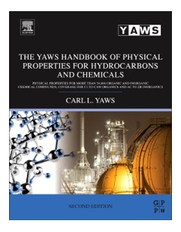 Abbildung von Yaws | The Yaws Handbook of Physical Properties for Hydrocarbons and Chemicals | 2015 | Physical Properties for More T...