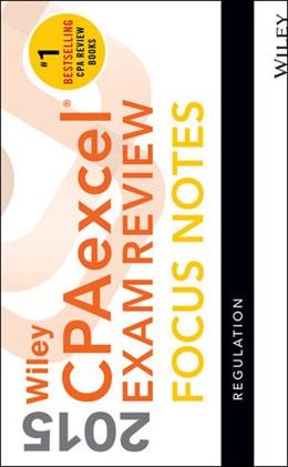 Abbildung von Wiley CPAexcel Exam Review 2015 Focus Notes | 2015 | Regulation