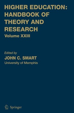 Abbildung von Smart | Higher Education: Handbook of Theory and Research | 2008 | 23