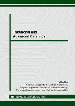 Abbildung von Sirisoonthorn / Jiemsirilers | Traditional and Advanced Ceramics | 1. Auflage | 2014 | Volume 608 | beck-shop.de