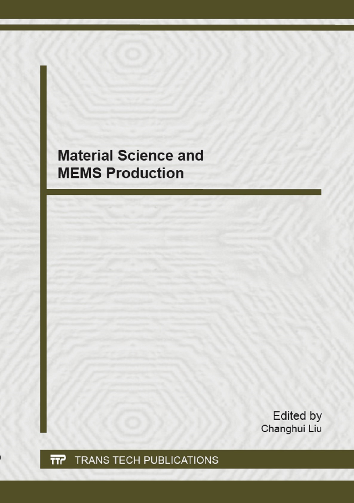 Material Science and MEMS Production | Liu, 2014 | Buch (Cover)