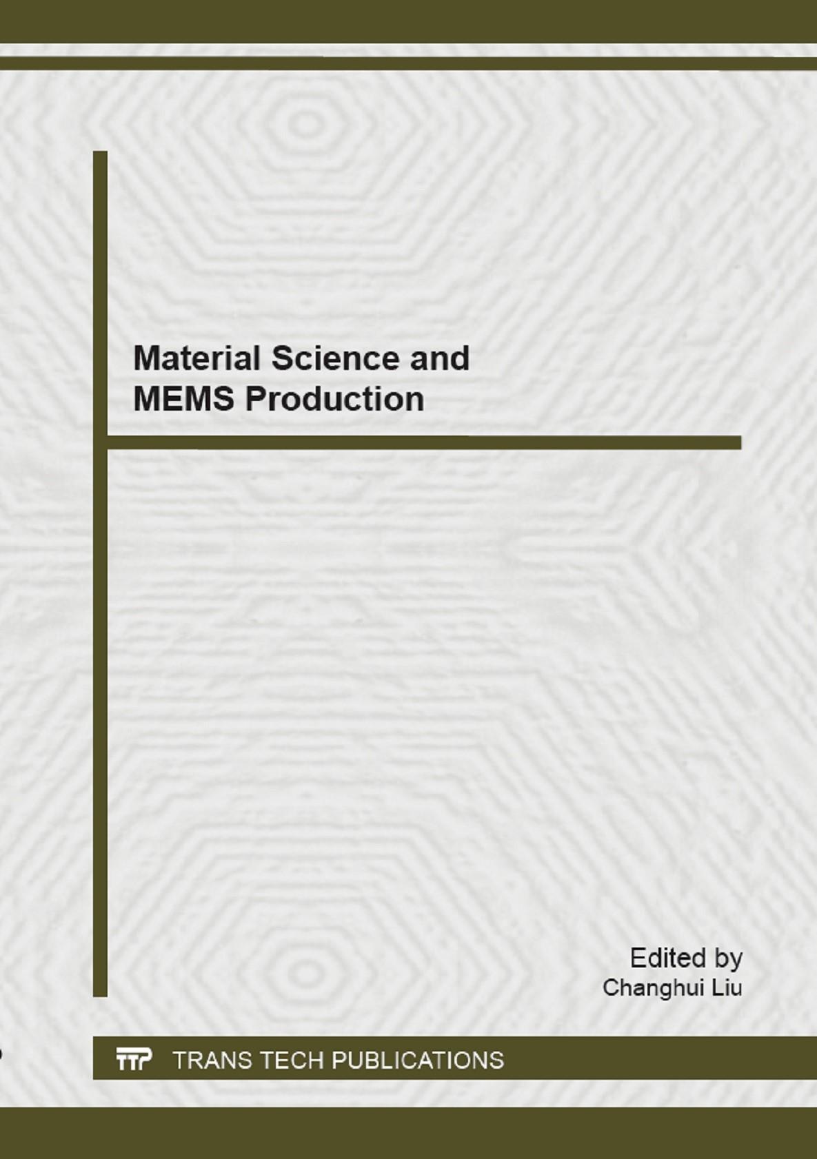 Abbildung von Liu   Material Science and MEMS Production   2014
