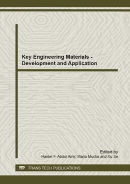 Abbildung von Abdul Amir / Mucha | Key Engineering Materials - Development and Application | 1. Auflage | 2014 | Volume 911 | beck-shop.de