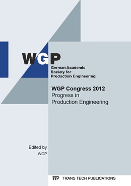 Abbildung von WGP | WGP Congress 2012 | 2014 | Selected, peer reviewed papers... | Volume 907