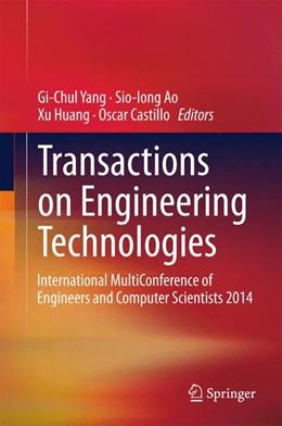 Abbildung von Yang / Ao / Huang / Castillo | Transactions on Engineering Technologies | 2015 | International MultiConference ...