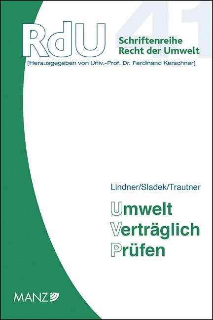 Umwelt Verträglich Prüfen | Lindner / Sladek / Trautner, 2014 (Cover)