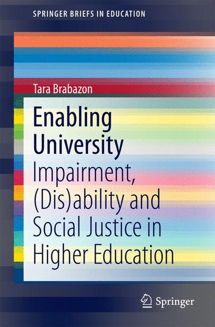 Enabling University | Brabazon, 2015 | Buch (Cover)