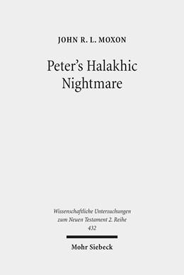 Abbildung von Moxon | Peter's Halakhic Nightmare | 2017 | The