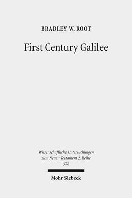 Abbildung von Root | First Century Galilee | 1. Auflage | 2014 | 378 | beck-shop.de