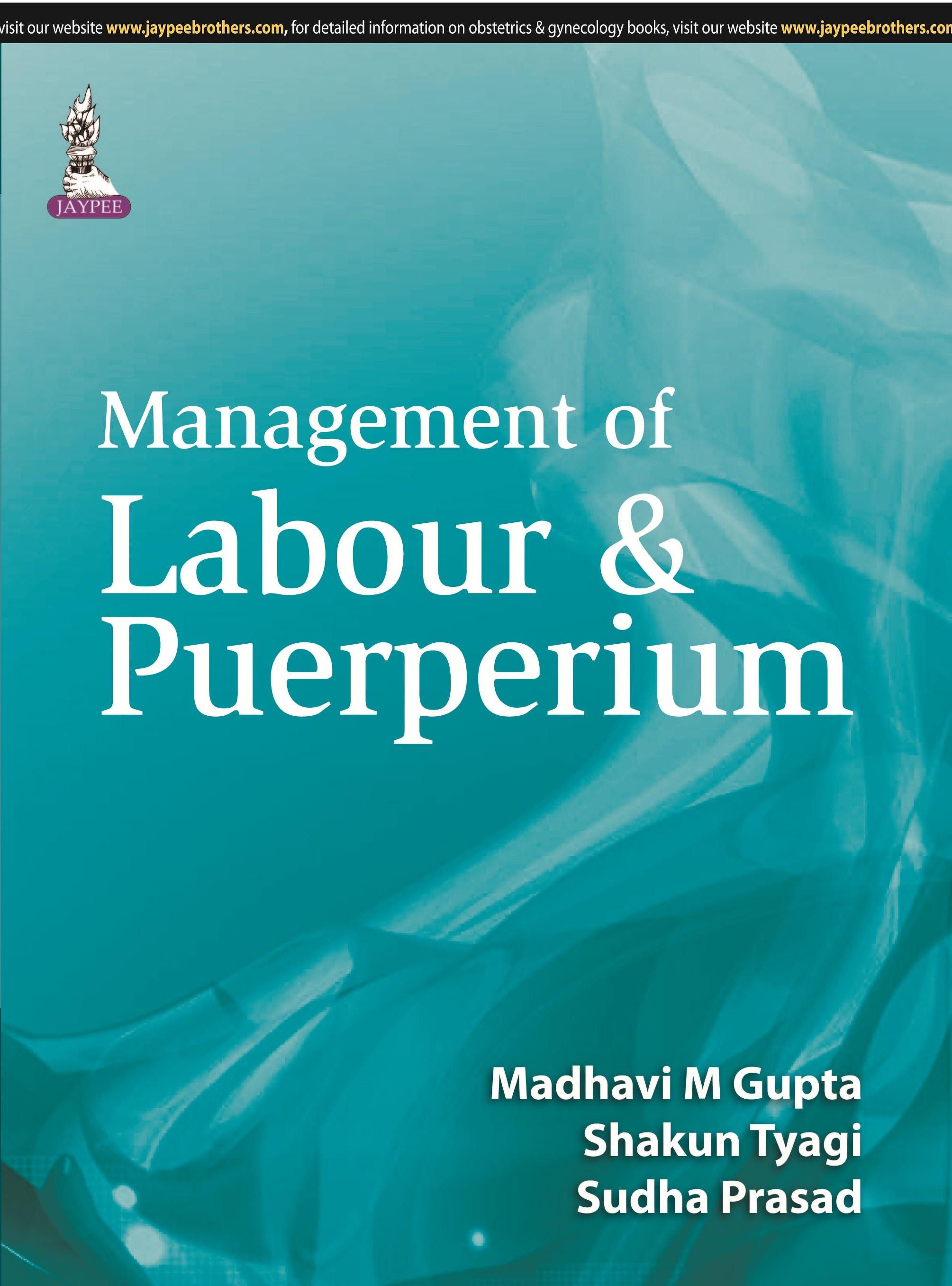 Abbildung von Gupta / Tyagi / Prasad | Management of Labour & Puerperium | 2015