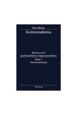 Abbildung von Blickle | Oberdeutschland | 1. Auflage | 2014 | beck-shop.de