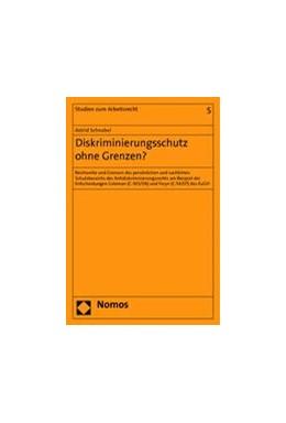 Abbildung von Schnabel | Diskriminierungsschutz ohne Grenzen? | 2014 | Reichweite und Grenzen des per... | 5