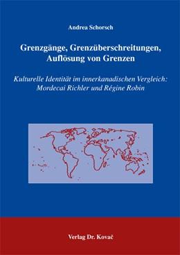 Abbildung von Schorsch | Grenzgänge, Grenzüberschreitungen, Auflösung von Grenzen | 2005 | Kulturelle Identität im innerk... | 82