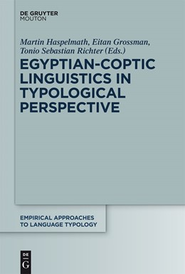 Abbildung von Haspelmath / Grossman | Egyptian-Coptic Linguistics in Typological Perspective | 1. Auflage | 2014 | 55 | beck-shop.de