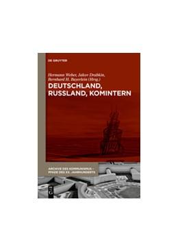 Abbildung von Weber / Drabkin | Deutschland, Russland, Komintern | 1. Auflage | 2015 | 5+6 | beck-shop.de