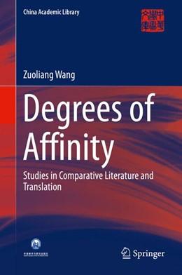 Abbildung von Wang   Degrees of Affinity   1. Auflage   2015   beck-shop.de