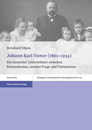 Johann Karl Vietor (1861–1934) | Olpen, 2014 | Buch (Cover)