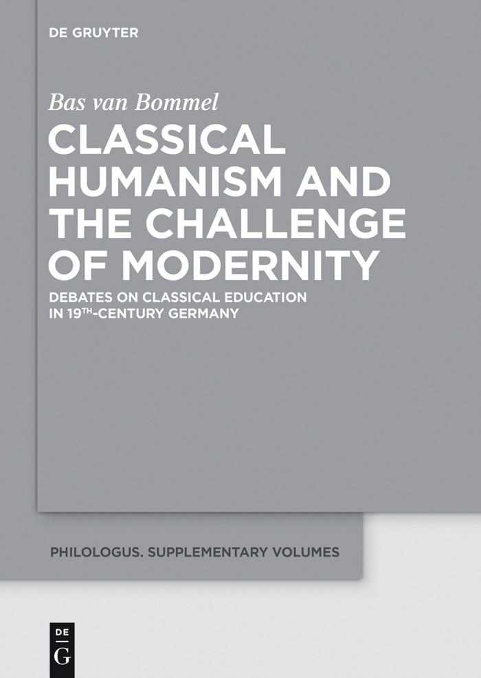 Abbildung von Bommel | Classical Humanism and the Challenge of Modernity | 2015
