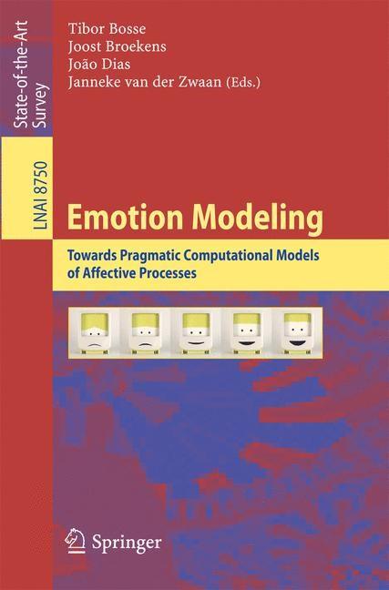 Emotion Modeling | Bosse / Broekens / Dias / van der Zwaan, 2014 | Buch (Cover)