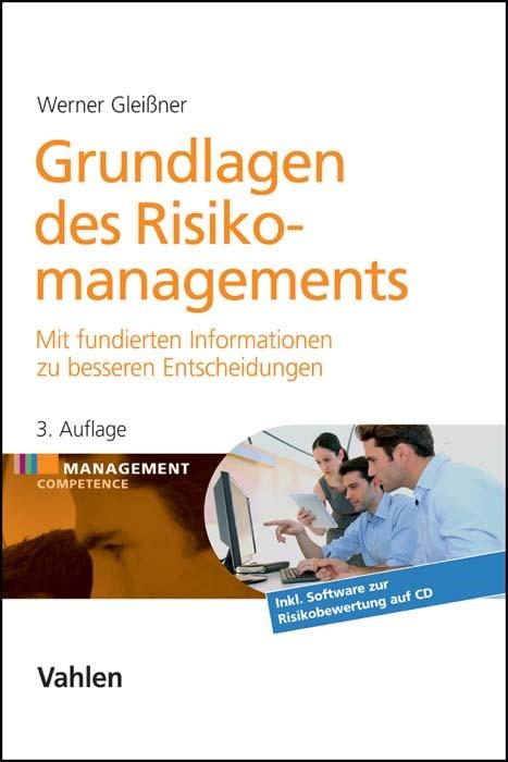 Grundlagen des Risikomanagements | Gleißner | 3., vollständig überarbeitete und erweiterte Auflage, 2016 (Cover)