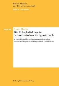 Die Erbschaftsklage im Schweizerischen Zivilgesetzbuch | Moshe, 2014 | Buch (Cover)