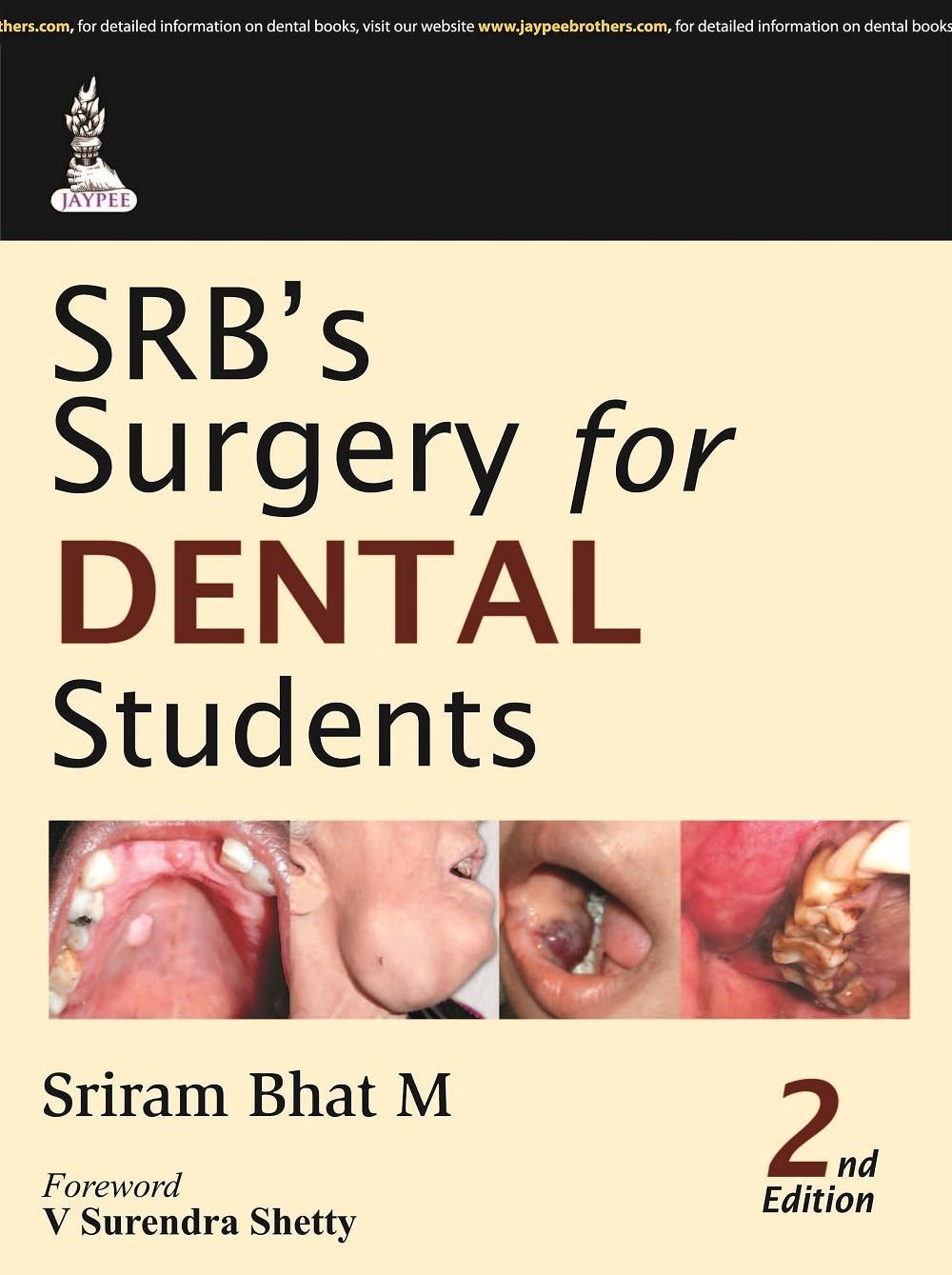 Abbildung von Bhat | SRB's Surgery for Dental Students | 2014