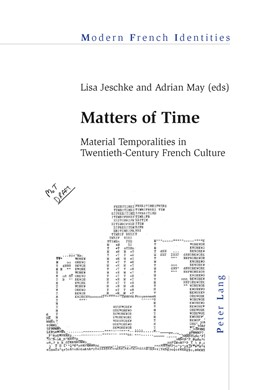 Abbildung von May / Jeschke | Matters of Time | 2014 | Material Temporalities in Twen... | 115