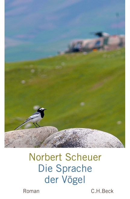 Cover: Norbert Scheuer, Die Sprache der Vögel