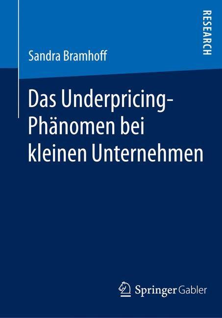 Das Underpricing-Phänomen bei kleinen Unternehmen | Bramhoff | 2014, 2014 | Buch (Cover)