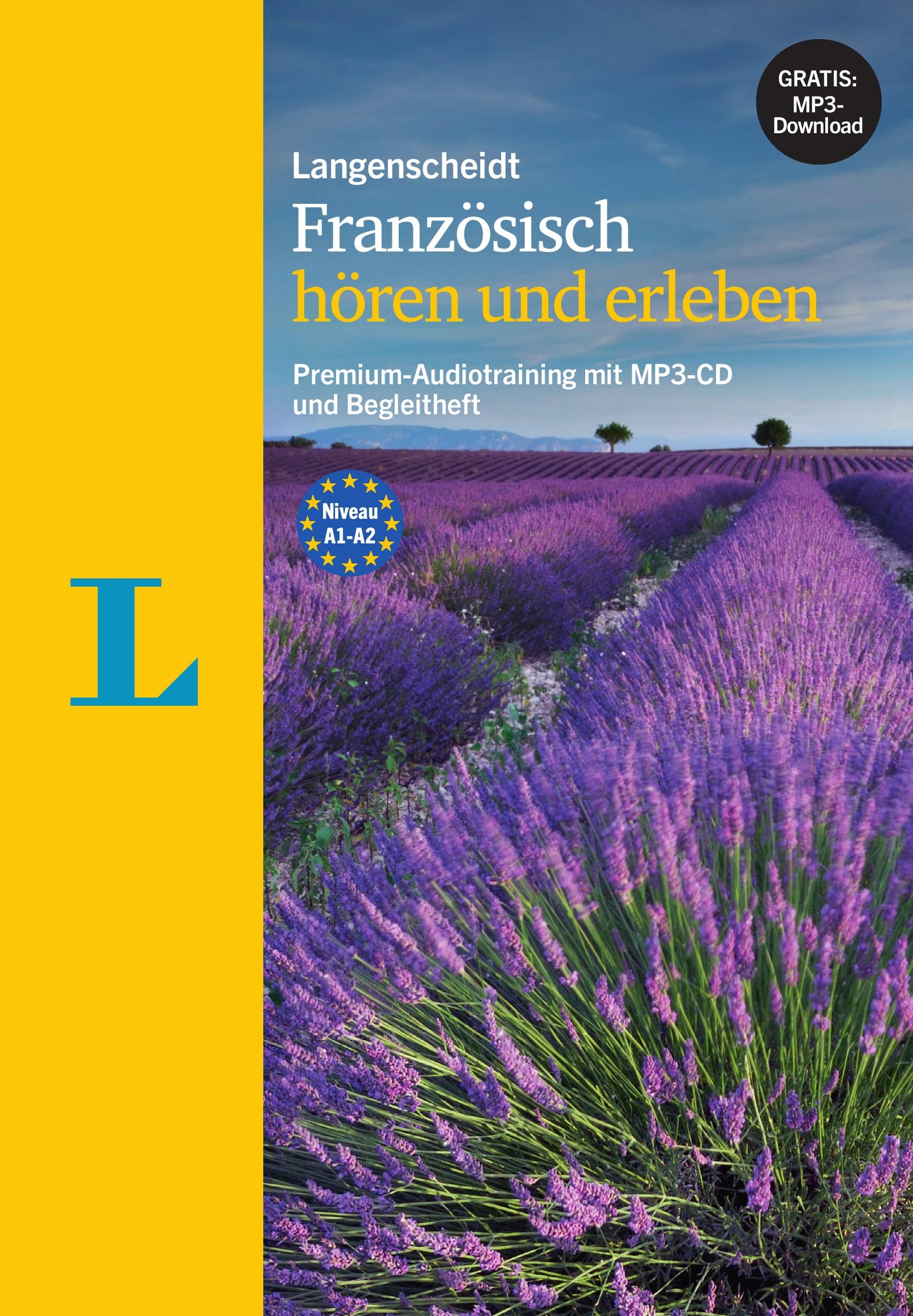 Langenscheidt Französisch hören und erleben - MP3-CD mit Begleitheft | Borota / Robein, 2016 | Buch (Cover)