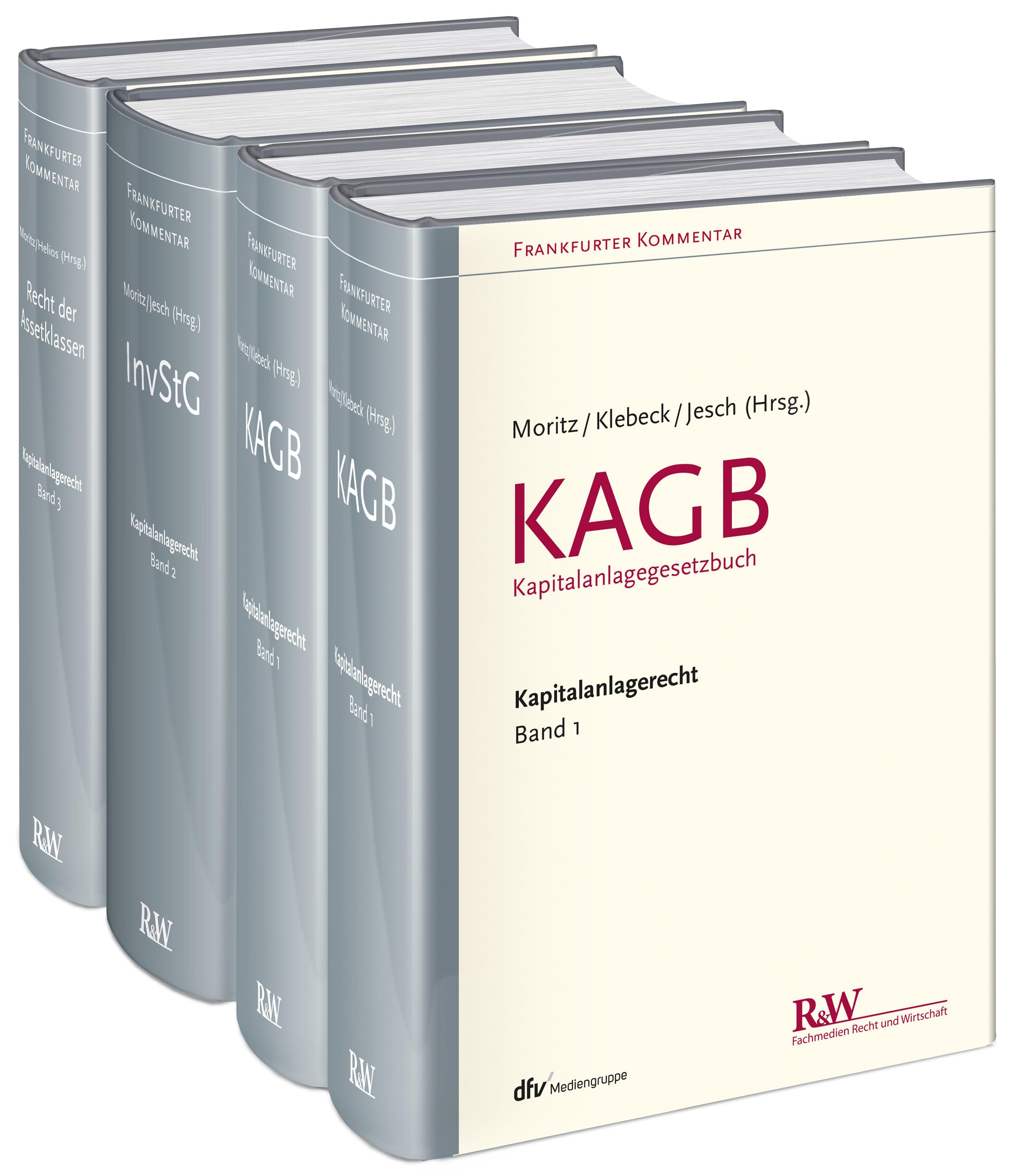 Frankfurter Kommentar zum Kapitalanlagerecht | Moritz / Jesch / Klebeck / Helios (Hrsg.), 2016 | Buch (Cover)