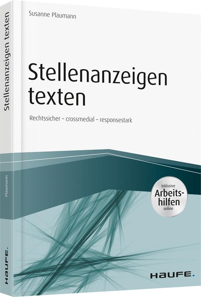 Stellenanzeigen texten   Plaumann, 2018   Buch (Cover)