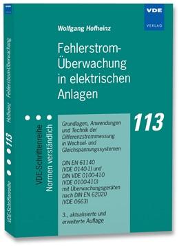 Abbildung von Hofheinz   Fehlerstrom-Überwachung in elektrischen Anlagen   3., aktualisierte und erweiterte Auflage   2014   Grundlagen, Anwendungen und Te...   113